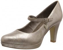 s.Oliver 24400-31, Scarpe con Tacco Donna, Oro (Rose Metallic 519), 40 EU
