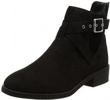 New Look Wide Foot Bernie, Stivali Donna, (Black), 37 EU