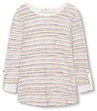 edc by Esprit 027cc1k006, T-Shirt Donna, (off White), 36 (Taglia Produttore: Small)