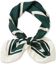 Gant O1. G Silk Scarf, Sciarpa Donna, Verde (June Bug Green), Taglia Unica