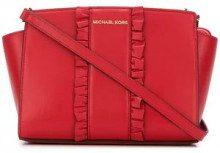 - Michael Michael Kors - Borsa a tracolla 'Selma Large' - women - pelle di vitello - Taglia Unica - di colore rosso