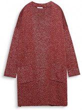 edc by Esprit 097cc1i058, Cardigan Donna, Rosso (Garnet Red 620), Small