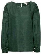 ESPRIT 108ee1f002, Camicia Donna, Verde (Dark Green 300), 42 (Taglia Produttore: 36)