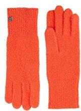 ESPRIT Accessoires 118ea1r017, Guanti Donna, Arancione (Orange 820), Unica (Taglia Produttore: 1SIZE)