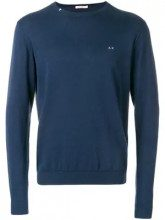 - Sun 68 - Maglione con girocollo - men - cotone - XXL, S, M - di colore blu