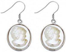 Burgmeister Jewelry - Orecchini pendenti da donna, argento sterling 925, cod. JHE1058-214