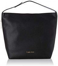 Calvin Klein Jeans Drive Hobo - Borse a spalla Donna, Nero (Black), 10x25x30 cm (B x H T)
