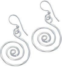 H. Gaventa Ltd - Orecchini pendenti da donna, argento sterling 925, cod. E-11324
