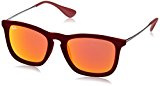 Ray-Ban Chris RB4187 Occhiali da sole Wayfarer, Unisex adulto,