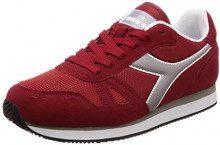 Diadora Simple Run, Sneaker Uomo, (Rosso Cupo 55012), 40 EU