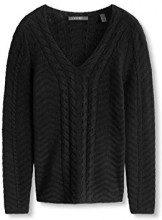 ESPRIT Collection 106EO1I010 - Regular Fit, Felpa Donna, Nero (Black), 34 (Taglia Produttore: X-Small)