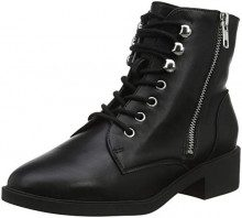 New Look 5888542, Stivali Combat Donna, Nero (Black 01), 39 EU