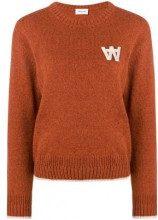 - Wood Wood - crew neck jumper - women - other fibers/lana/fibra sintetica - M - color marrone