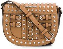 - Love Moschino - studded shoulder bag - women - pelle - Taglia Unica - color marrone