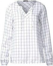 Cecil 340809, Blusa Donna, Bianco (White 20000), XS