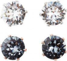 Set di orecchini con cristalli Swarovski® (set 4 pezzi)