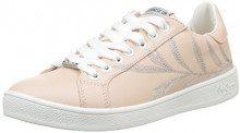 Pepe Jeans London Brompton Embroidery, Scarpe da Ginnastica Basse Donna, Rosa (Mauve Pink), 37 EU