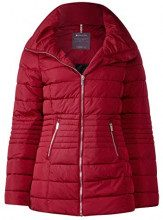 Street One 201143, Cappotto Donna, Rot (Carpet Red 11359), 40