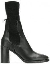 - Tommy Hilfiger - Stivali elasticizzati - women - gomma/pelle/pelle di vitello/fibra sinteticafibra sintetica - 37, 38, 40 - di colore nero