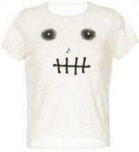 - Tu Es Mon Trésor - T - shirt Skull con ricamo - women - fibra sintetica - 40, 38 - di colore bianco