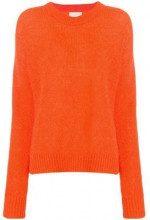 - Laneus - Maglione girocollo - women - lana merino/mohair/fibra sintetica - 44, 34 - di colore arancione