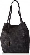 TOM TAILOR Denim MILA, Borsa shopper donna, Nero (Schwarz (schwarz 60)), 44x35x16 cm (B x H x T)
