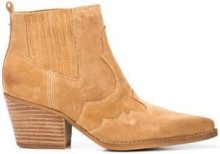 - Sam Edelman - western ankle boots - women - pelle di vitello - 7, 10, 6, 6.5, 8.5 - color carne