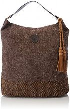 Timberland TB0M5766, Borsa a Spalla Donna, Marrone (Chocolate Brown), 18x42x36 cm