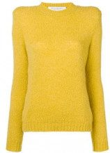- Philosophy Di Lorenzo Serafini - structured long sleeved top - women - fibra sintetica/alpaca/acrilicolana - 44 - di colore giallo
