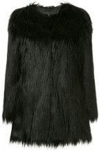 - Unreal Fur - Wanderlust faux fur coat - women - fibra sintetica - S, M, XS , L - di colore nero