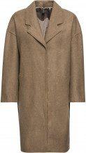 Cappotto in tessuto misto lana