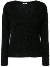 - P.A.R.O.S.H. - Maglione con scollo a V - women - angora/fibra sintetica - XS - di colore nero