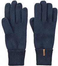 Barts Fine Knitted, Guanti Donna, Blu (Navy 003h), 3 (Taglia Produttore:3)