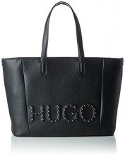 HUGO Mayfair Shopper-s - Borse Tote Donna, Nero (Black), 15x29x44 cm (B x H T)