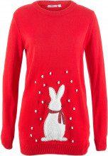 Pullover con coniglietto