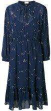 - Closed - flared V - neck dress - women - cotone - S, M, L, XS - di colore blu