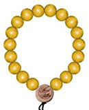 Wood Fellas Deluxe Pearl braccialetto Neon Yellow