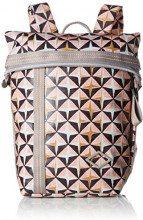 Oilily Lori Geometrical Backpack Mvf - Borse a zainetto Donna, Rosa (Rose), 13x26x22 cm (B x H T)