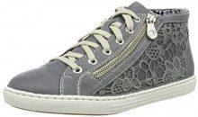 Rieker L0912, Sneaker a Collo Alto Donna, Blu (Jeans/Denim), 41 EU