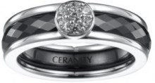 Ceranity - Anello, Argento Sterling 925