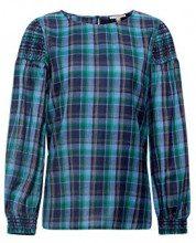 ESPRIT 108ee1f001, Camicia Donna, (Navy 400), 40 (Taglia Produttore: 34)
