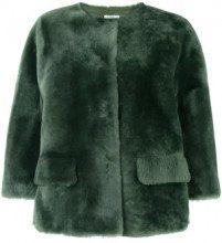 - Desa 1972 - Pelliccia 'Merinillo' - women - shearling/acetato - 38 - di colore verde