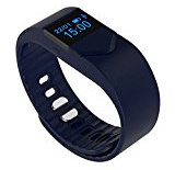 Intelligente Bracciale M5S Bluetooth 4.0 fitness Attività Tracker Guarda Sport Salute Wristband: Fitness Monitor sonno promemoria sedentario cardiofrequenzimetro compatibile con Android IOS Smartphone