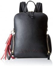 Calvin Klein Jeans Pop Domed Backpack - Zaini Donna, Nero (Black), 13x37x28 cm (B x H T)