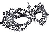 Coxeer Travestimento Greca Romano Traforate Maschera per Fancy Dress Ball Party