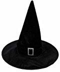 VORCOOL Velluto nero Strega Maga cappello Hallowen Fancy Dress festa in Costume accessorio