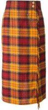 - Louis Feraud Vintage - Gonna pantalone - women - lana - 38 - di colore giallo