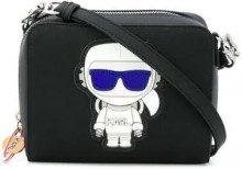 - Karl Lagerfeld - K/Space 2 - in - 1 cross body bag - women - fibra sintetica - Taglia Unica - di colore nero