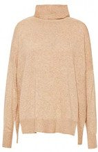 ESPRIT Collection 108eo1i011, Felpa Donna, Marrone (Camel 5 234), X-Small