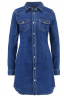 Vestito di jeans - blue denim